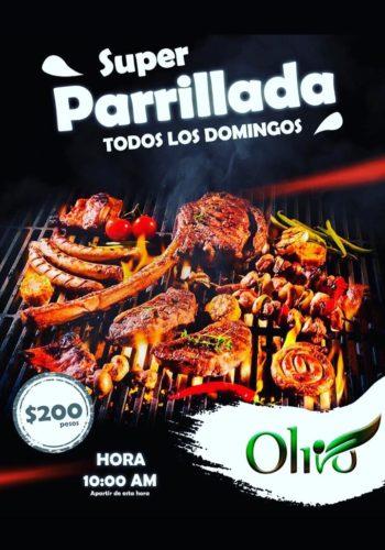 Rama de Oliva Las Terrenas parrillada domingo